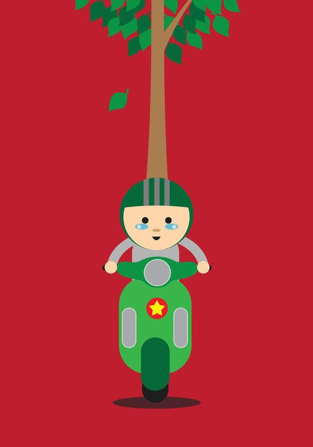 Hoá ra trong mắt bạn bè quốc tế, giao thông Việt Nam lại thú vị và hài hước đến vậy - Ảnh 4.