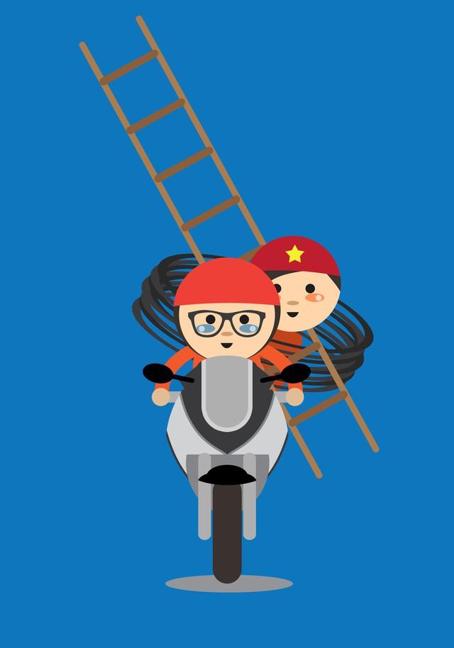 Hoá ra trong mắt bạn bè quốc tế, giao thông Việt Nam lại thú vị và hài hước đến vậy - Ảnh 8.