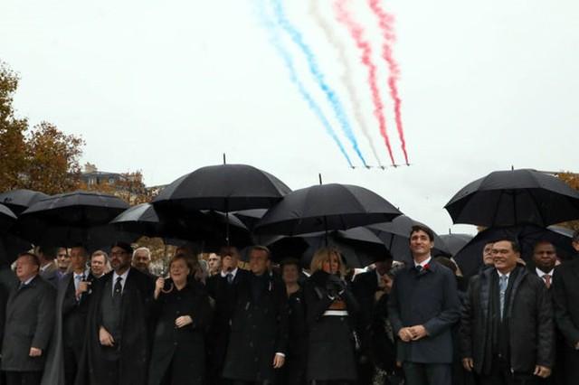 Những hình ảnh đặc biệt tại buổi lễ kỉ niệm 100 năm kết thúc Thế chiến I - Ảnh 5.