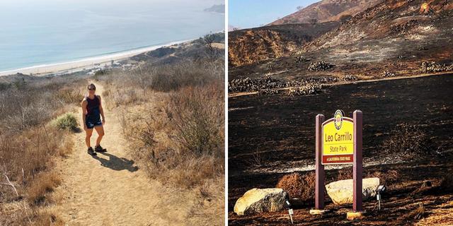 Chùm ảnh California sau cháy rừng: Thiên đường chìm trong biển lửa, con người nhỏ bé trốn chạy nhưng không bao giờ bỏ cuộc - Ảnh 11.