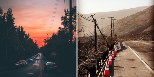 Chùm ảnh California sau cháy rừng: Thiên đường chìm trong biển lửa, con người nhỏ bé trốn chạy nhưng không bao giờ bỏ cuộc - Ảnh 12.