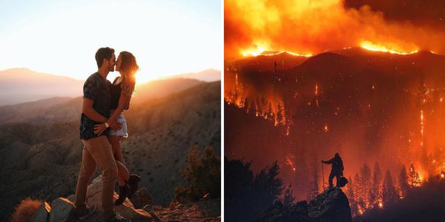 Chùm ảnh California sau cháy rừng: Thiên đường chìm trong biển lửa, con người nhỏ bé trốn chạy nhưng không bao giờ bỏ cuộc - Ảnh 28.