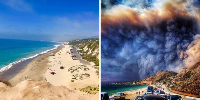 Chùm ảnh California sau cháy rừng: Thiên đường chìm trong biển lửa, con người nhỏ bé trốn chạy nhưng không bao giờ bỏ cuộc - Ảnh 10.