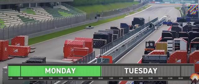 """Chuỗi cung ứng """"thần kỳ"""" của giải F1: Tối Chủ Nhật còn đua tại Trung Đông, sáng thứ Tư đã sẵn sàng ở Trung Quốc - Ảnh 8."""