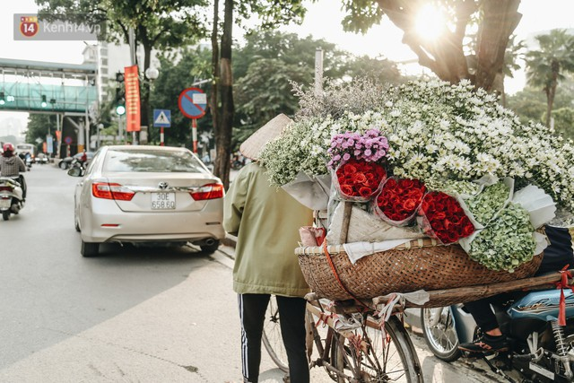 Cúc hoạ mi vào vụ mùa, nông dân Hà Nội hớn hở chào mừng khách đến mua hoa và chụp ảnh - Ảnh 19.