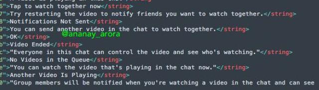 Facebook Messenger chuẩn bị có tính năng mới, cho phép xem chung video với bạn bè - Ảnh 1.