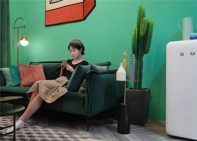 Muốn hưởng thụ cuộc sống tự lập, cô gái 18 tuổi tự tay thiết kế căn hộ rộng 36m² chất lừ - Ảnh 1.