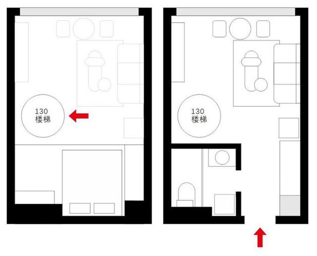 Muốn hưởng thụ cuộc sống tự lập, cô gái 18 tuổi tự tay thiết kế căn hộ rộng 36m² chất lừ - Ảnh 2.