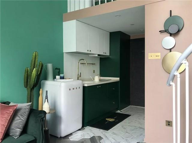 Muốn hưởng thụ cuộc sống tự lập, cô gái 18 tuổi tự tay thiết kế căn hộ rộng 36m² chất lừ - Ảnh 5.