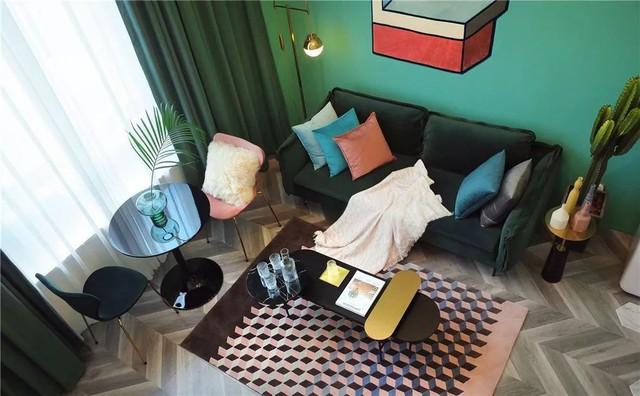 Muốn hưởng thụ cuộc sống tự lập, cô gái 18 tuổi tự tay thiết kế căn hộ rộng 36m² chất lừ - Ảnh 8.