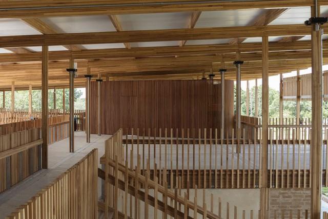 Ngôi trường làm từ gỗ và gạch bùn trong rừng nhiệt đới Brazil giành giải kiến trúc xuất sắc nhất thế giới 2018 - Ảnh 11.