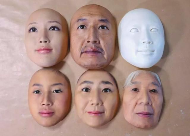 Công ty Nhật Bản này đang thường ngày tạo ra những chiếc mặt nạ 3D chân thật đến đáng sợ - Ảnh 4.