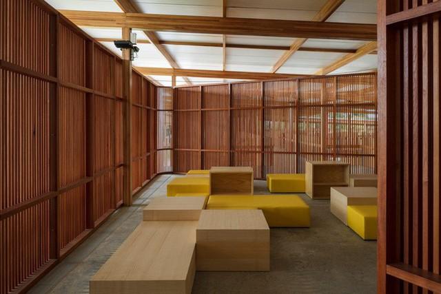 Ngôi trường làm từ gỗ và gạch bùn trong rừng nhiệt đới Brazil giành giải kiến trúc xuất sắc nhất thế giới 2018 - Ảnh 4.