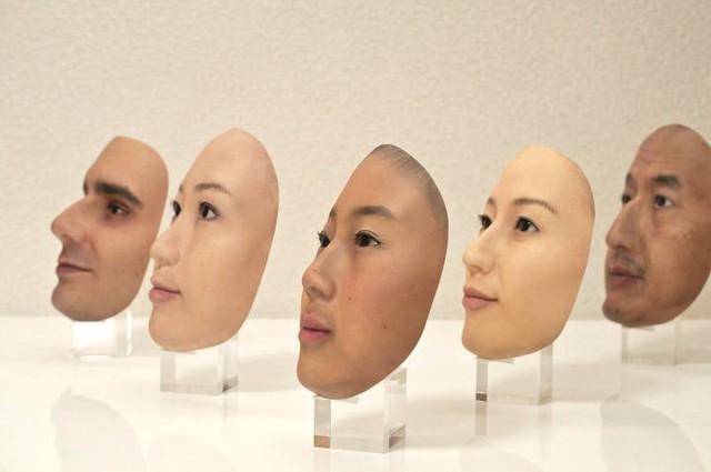 Công ty Nhật Bản này đang thường ngày tạo ra những chiếc mặt nạ 3D chân thật đến đáng sợ - Ảnh 5.