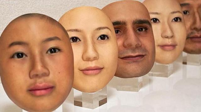 Công ty Nhật Bản này đang thường ngày tạo ra những chiếc mặt nạ 3D chân thật đến đáng sợ - Ảnh 6.