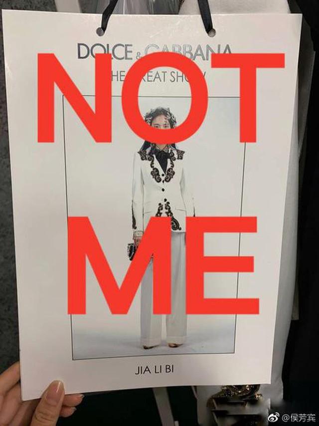 """Dolce & Gabbana bị tẩy chay tại Trung Quốc, các shop Taobao thi nhau bán hàng """"mỉa mai"""" NTK của hãng - Ảnh 7."""