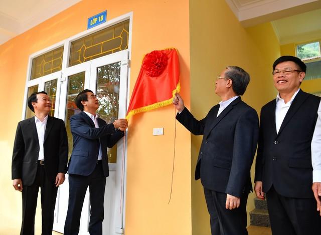 Vietcombank tài trợ 3 tỷ đồng xây nhà lớp học tại tỉnh Yên Bái - Ảnh 3.