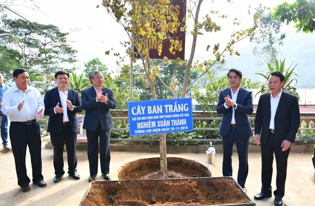 Vietcombank tài trợ 3 tỷ đồng xây nhà lớp học tại tỉnh Yên Bái - Ảnh 4.