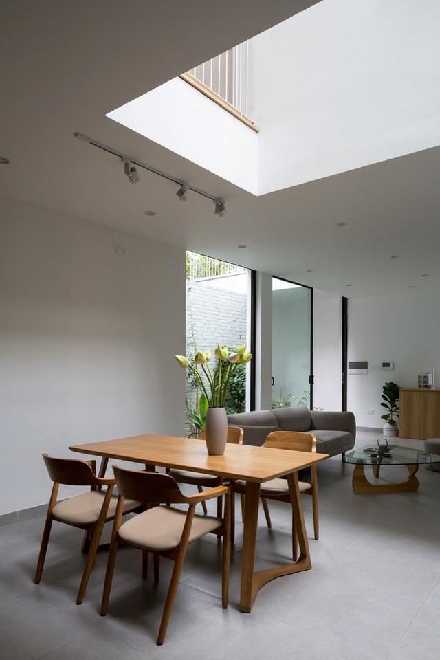 Xây từ miếng đất nhiều nhược điểm, ngôi nhà 85m² ở Hà Nội này vẫn được trầm trồ khen vừa đẹp, vừa xanh - Ảnh 7.