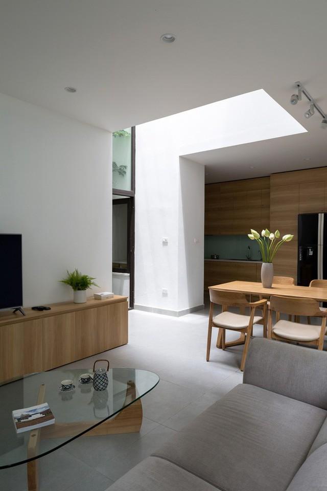 Xây từ miếng đất nhiều nhược điểm, ngôi nhà 85m² ở Hà Nội này vẫn được trầm trồ khen vừa đẹp, vừa xanh - Ảnh 8.