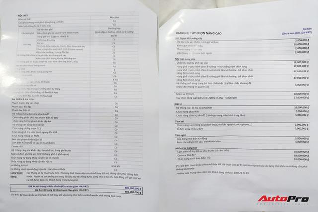 """Khách Việt mất thêm 300 triệu nếu mua mẫu sedan, SUV VinFast """"full option"""" - Ảnh 2."""