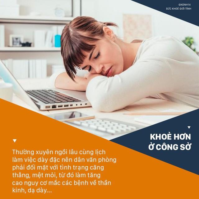 Dân văn phòng hay căng thẳng có nguy cơ đối mặt với hàng loạt vấn đề sức khỏe sau - Ảnh 1.