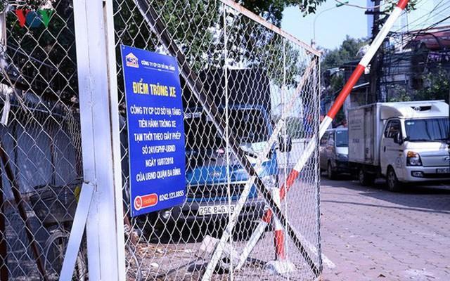 """Bãi đỗ xe thông minh """"đắp chiếu"""", thành nơi đổ rác tại Hà Nội - Ảnh 7."""
