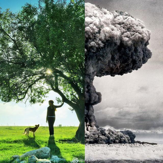 Rơi nước mắt với loạt ảnh cuộc sống tương phản của những vùng đất trên thế giới: Bên này bình yên, bên kia giông bão - Ảnh 8.