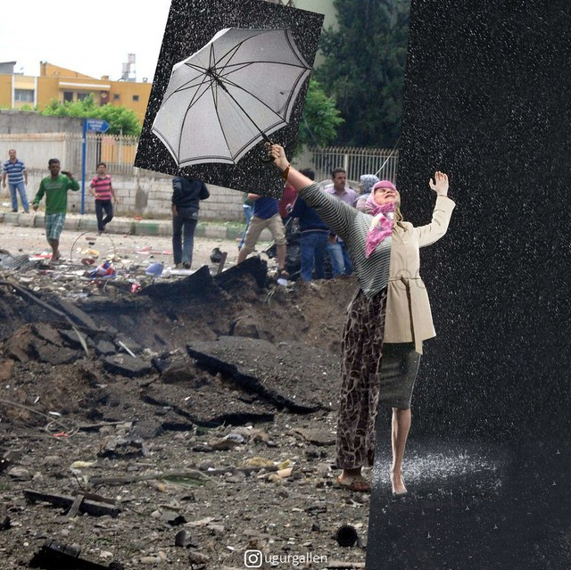 Rơi nước mắt với loạt ảnh cuộc sống tương phản của những vùng đất trên thế giới: Bên này bình yên, bên kia giông bão - Ảnh 10.