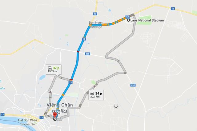 Cận cảnh khách sạn 5 sao Xuân Trường và các đồng đội sẽ ở tại Lào - Ảnh 2.