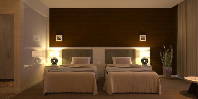 Cận cảnh khách sạn 5 sao Xuân Trường và các đồng đội sẽ ở tại Lào - Ảnh 4.
