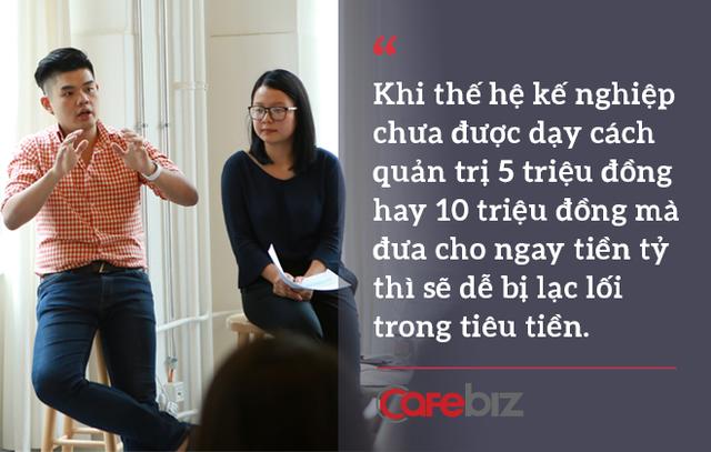 """Nguyễn Duy - """"hậu duệ"""" đời thứ 3 nhà Sơn Kova: Khi thế hệ kế nghiệp chưa được dạy cách quản trị 5 hay 10 triệu đồng, mà đưa cho ngay tiền tỷ thì sẽ dễ bị lạc lối - Ảnh 4."""