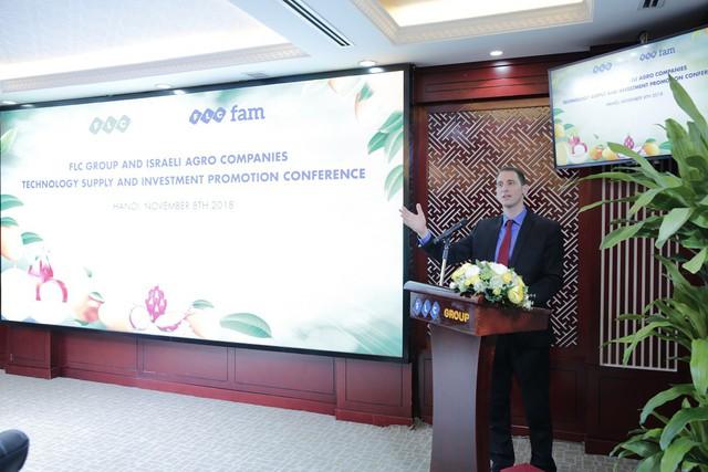 12 doanh nghiệp Israel tìm cơ hội đầu tư nông nghiệp với FLC - Ảnh 1.