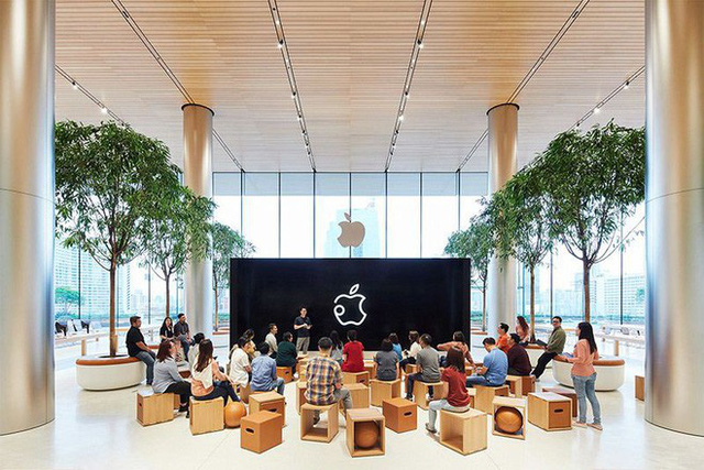 Apple khoe những bức ảnh đầu tiên chụp bên trong Apple Store Thái Lan, sẵn sàng khai trường vào ngày mai 10/11 - Ảnh 1.