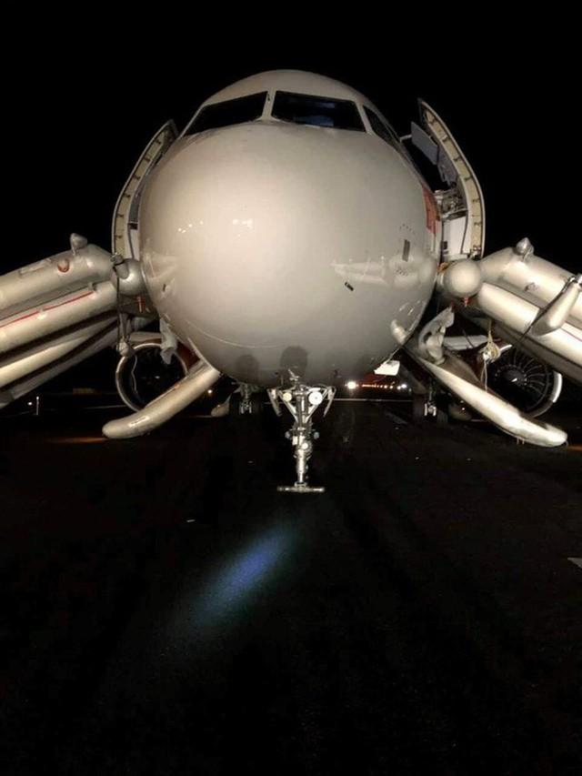 Vụ máy bay Vietjet gặp sự cố: Loại bỏ lý do do lỗi kỹ thuật - Ảnh 1.