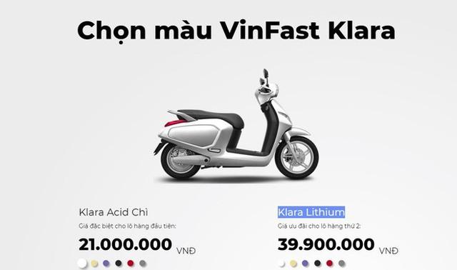 Xe máy điện của VinFast chính thức tăng giá phân phối - Ảnh 1.