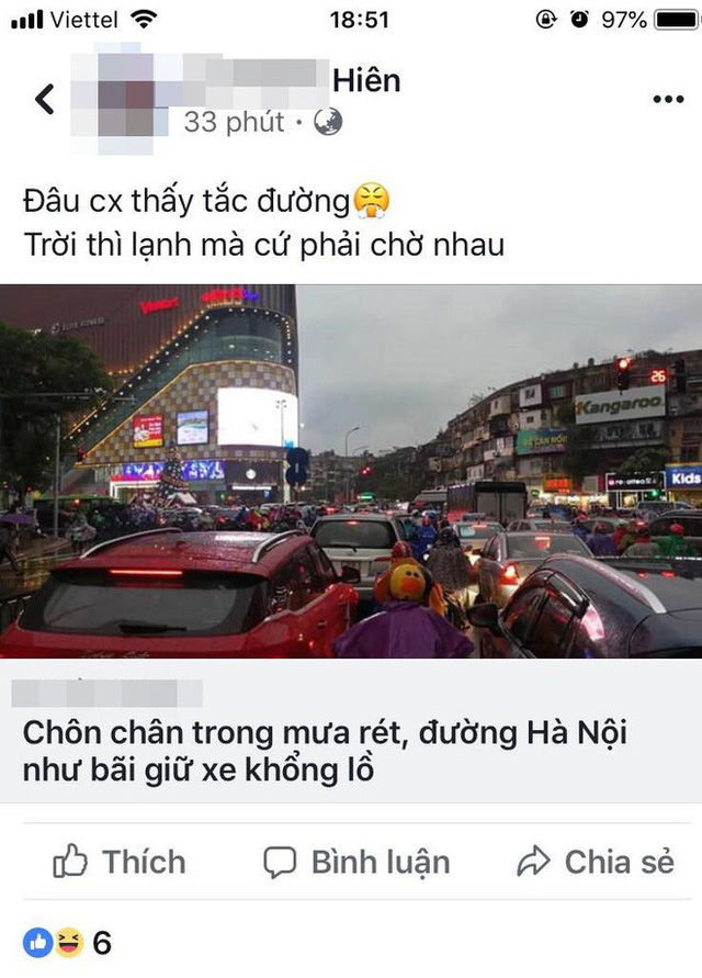 Chen chúc và bất lực trong mưa rét tê tái, người Hà Nội về được nhà cũng là một kì tích - Ảnh 10.