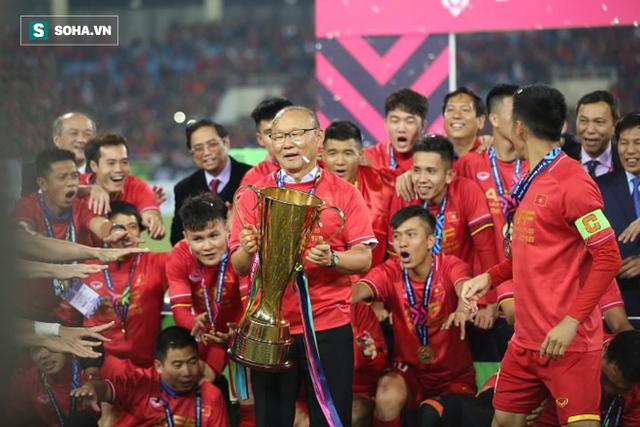 Vô địch AFF Cup, Việt Nam gặp Hàn Quốc trong trận chung kết của khu vực hơn 2 tỉ người - Ảnh 1.