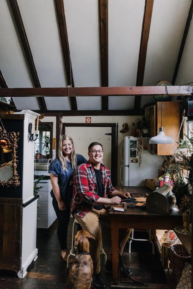 Ngôi nhà bình yên của cặp đôi trẻ bỏ nơi phồn hoa về thị trấn nhỏ xây ước mơ hạnh phúc - Ảnh 1.