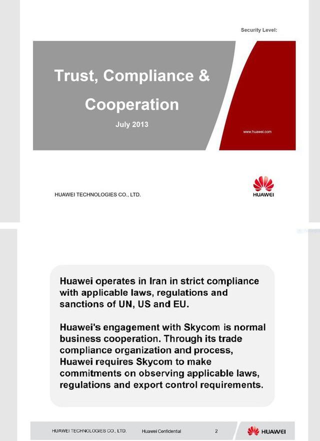 Mỹ công bố tài liệu mật, tuyên bố chắc như đinh đóng cột CFO Huawei có tội - Ảnh 1.