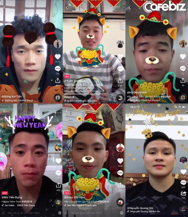 Từ hình ảnh Quang Hải, Tiến Dũng ngộ nghĩnh trên Tik Tok đến chiến lược lôi kéo người dùng của mạng xã hội video này ở Việt Nam - Ảnh 1.
