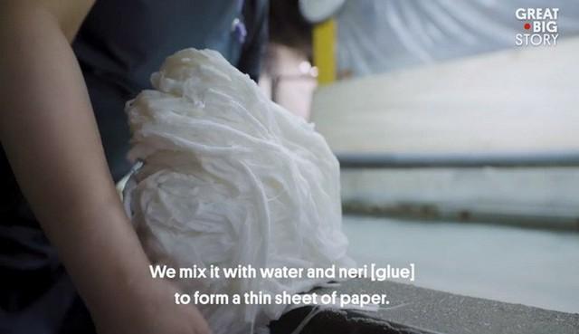 Kỳ công và tỉ mỉ, đây là cách người Nhật tạo ra loại giấy mỏng nhất thế giới - Ảnh 6.
