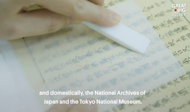 Kỳ công và tỉ mỉ, đây là cách người Nhật tạo ra loại giấy mỏng nhất thế giới - Ảnh 10.