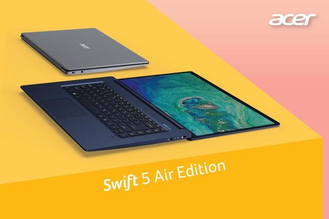 Hiệu quả vượt trội với dòng laptop dành riêng cho doanh nhân Acer Swift Series