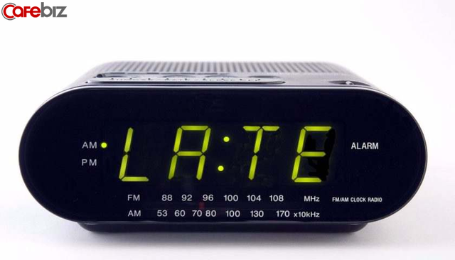 Những người thường xuyên trễ giờ, đi làm muộn: Mắc bệnh lý về tâm thần? - Ảnh 1.