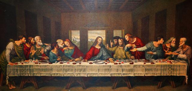 Bí mật trong Bữa ăn tối cuối cùng - tuyệt phẩm hội họa của thiên tài toàn năng Da Vinci - Ảnh 1.