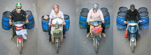 Bộ ảnh Bộ tứ siêu đẳng nhìn giao thông Hà Nội từ trên cao gây sốt cộng đồng mạng vì bắt khoảnh khắc quá chất - Ảnh 1.