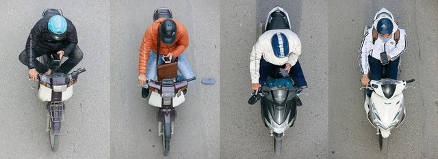 Bộ ảnh Bộ tứ siêu đẳng nhìn giao thông Hà Nội từ trên cao gây sốt cộng đồng mạng vì bắt khoảnh khắc quá chất - Ảnh 2.