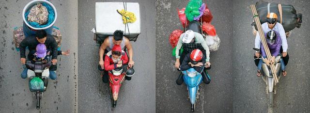 Bộ ảnh Bộ tứ siêu đẳng nhìn giao thông Hà Nội từ trên cao gây sốt cộng đồng mạng vì bắt khoảnh khắc quá chất - Ảnh 15.