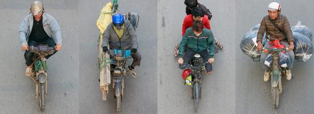 Bộ ảnh Bộ tứ siêu đẳng nhìn giao thông Hà Nội từ trên cao gây sốt cộng đồng mạng vì bắt khoảnh khắc quá chất - Ảnh 3.